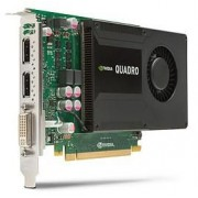 Placa Video profesionala HP Quadro K2000 2GB, DVI, DisplayPort