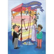 The Princess and the Pea - Happy Birthday Card-Book by Kate Ware