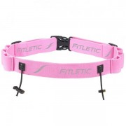 FITLETIC Race Number Holder with Gel PINK RUNNING PARK TRIATHLON