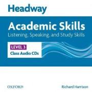 Headway Academic Skills: 3: Listening, Speaking, and Study Skills Class Audio CDs (3) by Richard Harrison
