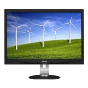 "Monitor Philips LCD 240B4QPYEB 24""wide/1920x1200/5ms/20mil:1/DP/2xUSB/LED/PLS/PowerSensor/pivot/repro"