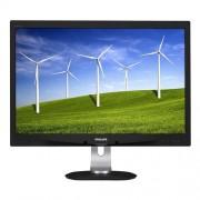 "Monitor Philips LCD 240B4QPYEB 24""wide/1920x1200/5ms/20mil:1/DP/2xUSB/LED/PLS/PowerSensor/pivot/repro"