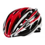 UVEX race 1 Helm red-white 55-59 cm Fahrradhelme