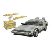 Diamond Select - Modellino Auto Back To The Future Model Iced Time Machine 30Th Anniversary Edition 33 Cm