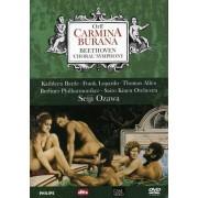 Orff / Beethoven - Carmina Burana / Sym.No.9 (0044007430606) (1 DVD)
