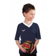 Trigema Jungen Raglan-Sport-Shirt Größe: 128 Material: 100 % Polyester Farbe: navy