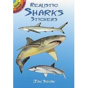 Realistic Sharks Stickers by Jan Sovak