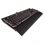 Tastatura gaming mecanica Corsair K70 Rapidfire RED LED Cherry MX Speed Layout EU Black