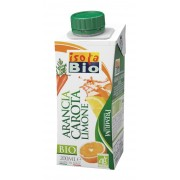 Bautura bio premium de portocale, morcovi si lamaie Isola Bio 200ml