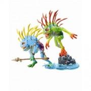 Fish-Eye + Gibbergill - Murloc 2 Pack - WoW Series 4 - DC ilimitado