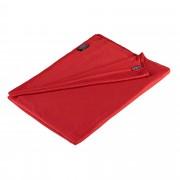 Cocoon Coolmax Travel Blanket Gr. 180x140cm - rot / monks red - Reisedecken