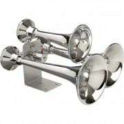 WOLO Cannon Ball Express LV Air Horn - 152db/150 Hz Output, Manual Lanyard Operation, Model 839
