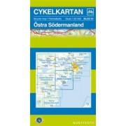 Fietskaart 23 Cykelkartan Östra Södermanland | Norstedts