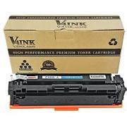 V4INK New Compatible CF401X 201X CF401A 201A Cyan Toner Cartridge for HP Color LaserJet Pro M252dw M252n MFP M277dw M