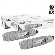 LD Compatible Ricoh 885288 / Type 2120D Set of 2 High Yield Black Laser Toner Cartridges for Aficio Printers