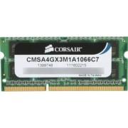 Memorie Laptop Corsair 4GB DDR3 1066MHz 7-7-7-20
