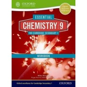 Essential Chemistry for Cambridge Secondary 1 Stage 9 Workbook by Mike Wooster