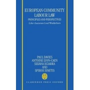 European Community Labour Law - Principles and Perspectives by Paul Davies