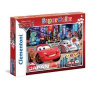 Clementoni 24741 - Puzzle Cars, 2 x 20 Pezzi, Multicolore