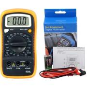 HOLDPEAK 838L Digitális multiméter VDC VAC ADC ellenállás hőmérséklet dióda szakadás tranzisztor hFE.