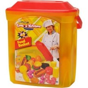 Cook N Kitchen Gourmet Food Bucket 40 Piece Play Set