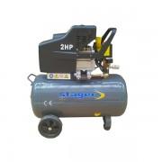 Compresor de aer Stager HM2050B, 230 V, 1.5 kW, 200 l/min, 8 bar, 50 l