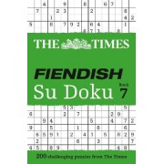 The Times Fiendish Su Doku: Book 7 by The Times Mind Games
