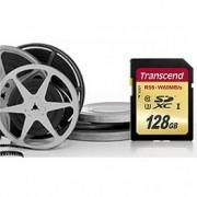 Флаш памет Transcend 128GB SDXC UHS-I U3 Card - TS128GSDU3