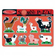 Melissa & Doug Farm Animals Sound Puzzle - 10726