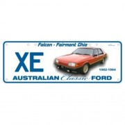 """""""Novelty Number Plate - Ford XE Fairmont Ghia - Sm"""""""