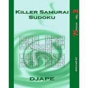 Killer Samurai Sudoku by Dj Ape