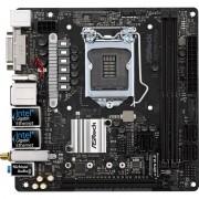 Placa de baza H270M-ITX/ac, Socket 1151, mITX
