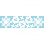 Ambiance-sticker Stickers électrostatiques fleurs 2