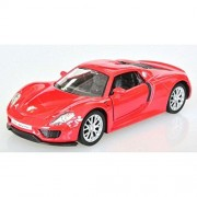 RMZ City Porsche 918 Spyder Red 1/36 Diecast Scale Model Car