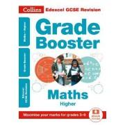 Edexcel GCSE Maths Higher Grade Booster for grades 5-9 by Collins GCSE
