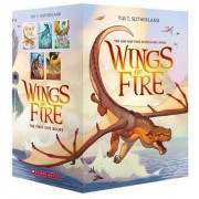 Wings of Fire Boxset, Books 1-5 (Wings of Fire) by Tui T Sutherland