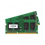 Memorie laptop Crucial 16GB DDR3 1600 MHz CL11 Dual Channel Kit