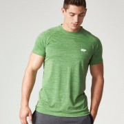 Myprotein Men's Performance Short Sleeve Top - Green Marl - S