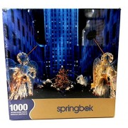 Springbok 1000 Piece Puzzle - Heralding Angels - Rockefeller Center, New York City At Christmas
