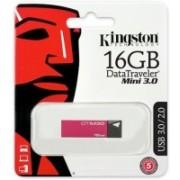 Kingston DataTraveler DTM30 3.0 16 GB Pen Drive(Maroon)