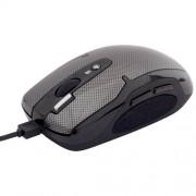 Miš za računar K5-52D Oscar Run-on-Shine USB Carbon crni A4 TECH