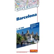Plattegrond City Flash Barcelona | Hallwag