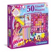 Clementoni 12040 - Mia and Me Gioco di Società, 50 Giochi Riuniti