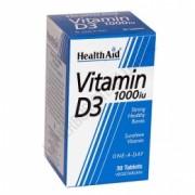 Vitamina D3 Health Aid 30 comprimidos