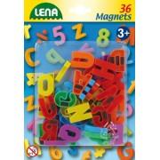 Lena 65745-lettres grand Ÿ pièces magnétiques, 36, env. ø 3 cm