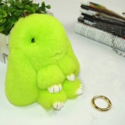Lovely Dead Rex Rabbit Doll Pendant for Bag / Key Chains / Car Size 15.0 x 14.0 x 8.0cm(Green)