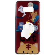 Husa Protectie Spate Star AMASQH_SG_S8P Squishy 3D Cats In Hell pentru Samsung Galaxy S8 Plus