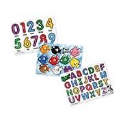 Classic Peg Puzzle Bundle (3 Puzzle Bundle): Puzzles (Wooden) - Peg Puzzles