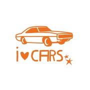 【70%OFF】I LOVE CARS ウォールステッカー n/a ゲーム・おもちゃ > その他