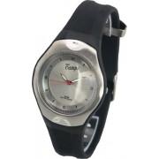 Camps 100321 - Reloj analógico de cuarzo para hombre con correa de plástico, color negro